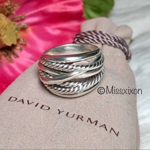❤️David Yurman Crossover Wide Ring Size 9